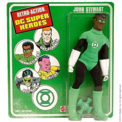 John Stewart DC Universe Super Heroes Retro Series ~ Green Lantern Action Figure
