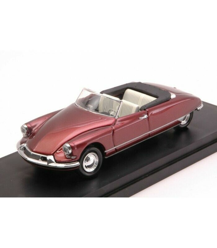 CITROEN DS 19 CABRIO 1962 BORDEAUX 1 43