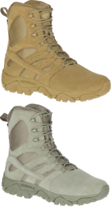 MERRELL Moab 2 Defense Tactical Military Army Combat Trekking Desert Boots Mens