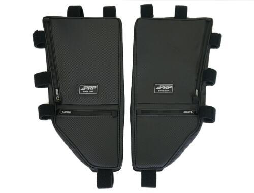 PRP Seats UTV Overhead Storage Bags PAIR Black Vinyl Honda Talon 1000 RX