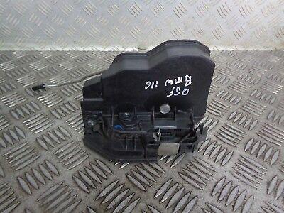 100% Vero 2005 Bmw 1 Series F20 5dr Lato Guidatore Serratura Anteriore- Rapida Dissipazione Del Calore