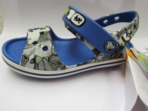 Boys Crocs Sandals 'Crocband K Ben10' Sea Blue - Great Price!