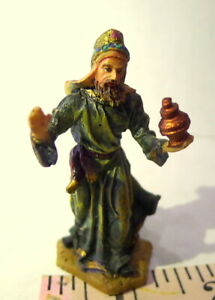Grandeur-Noel-Wise-King-with-a-gift-Bethlehem-Nativity-Christmas-2003-Holy-Night