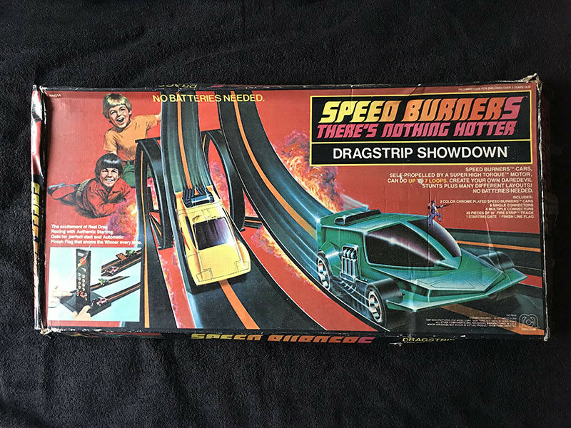 1977 MEGO Speed Burners DRAG STRIP SHOWDOWN with 2 Cars
