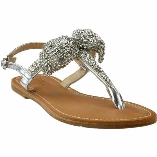 Dolce by Mojo Moxy Sienna Dress Sandal  Casual   Sandals Womens Silver