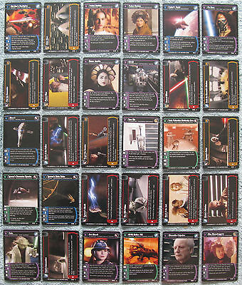 AOTC Star Wars TCG Attack of the Clones Rare Cards Part 1//2