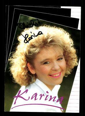 Autogramme & Autographen Musik Ehrlichkeit Karina Autogrammkarte Original Signiert ## Bc 146939