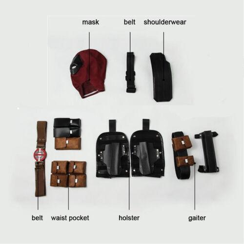 Deadpool 2 Accessories Strap Belt Waist Bag Quiver Halloween Cosplay Men Props