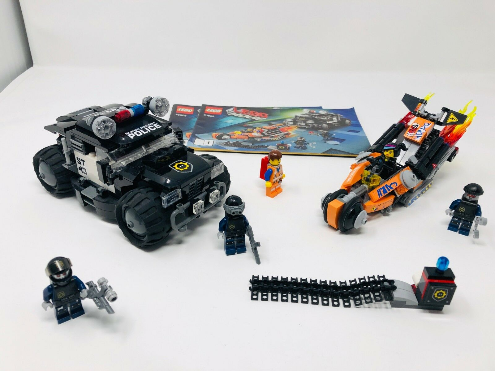 LEGO LEGO LEGO THE  MOVIE Superbike Verfolgungsrennen (70808) KOMPLETT+ OBA ce1a31