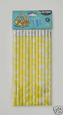 12 CAT DOG PAW PRINT Pencils Kid Party Goody Loot Bag Filler Favor School Supply