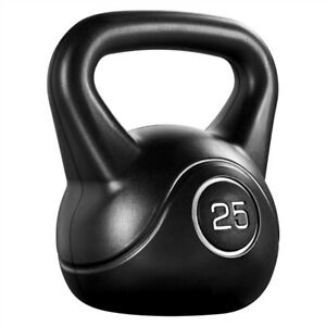 25lbs/35lbs Kettlebell HDPE Coated Kettle Bells for Home Gym Fitness Workout