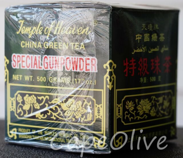 Temple of Heaven – Special Gunpowder China Green Tea – Loose Leaf 500g / 17.64oz