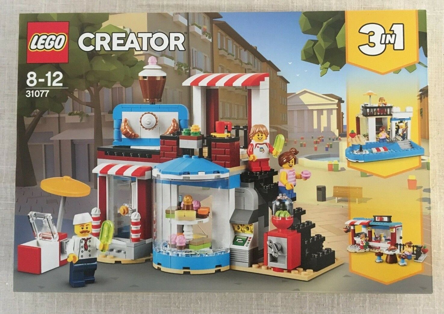 LEGO Creator Sweet Surprises 3in1 (31077) New Sealed