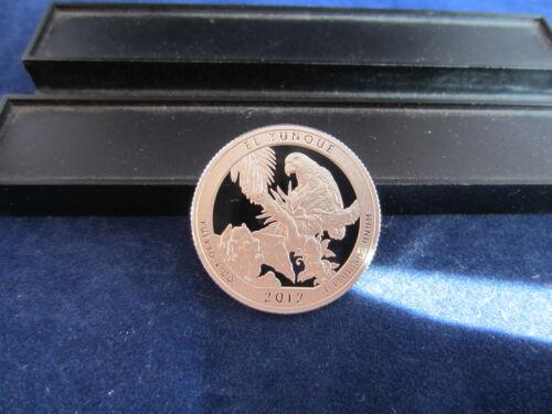 2012-S Silver Quarter EL YUNQUE Deep Cameo Mirror Proof Upper Grading Ranges