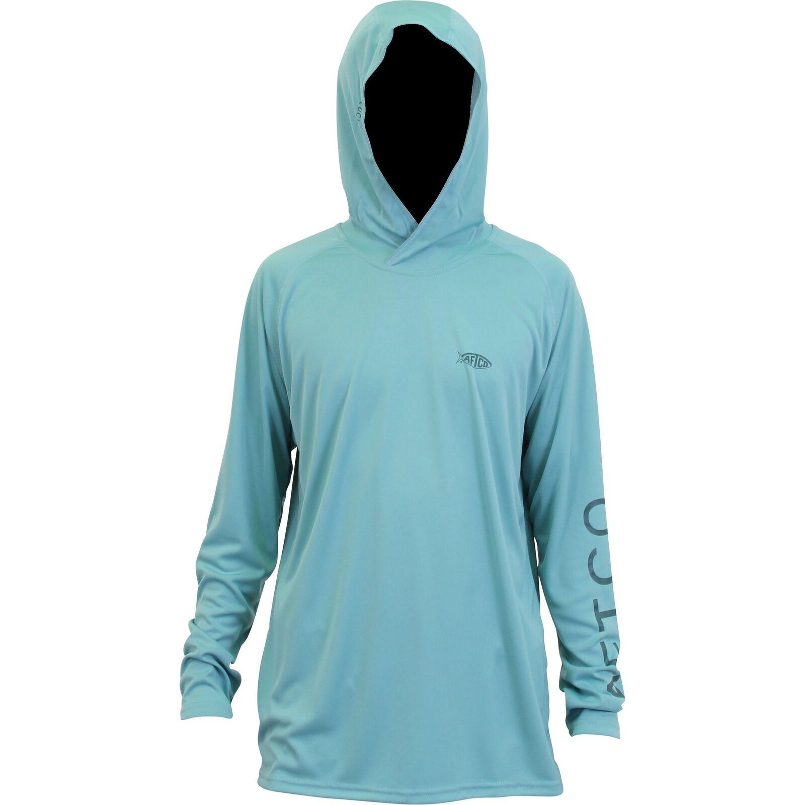 AFTCO Samurai Sun Predection Hoodie-Fishing Shirt-UPF 50- Menthol-Free Shipping