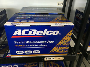 Ac Delco Battery Warranty >> Details About Holden Commodore Ve Vf 600cca 68ah Ac Delco Battery 30 Month Warranty
