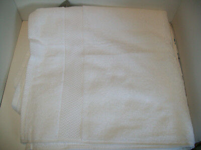 JCPenney Home Bright White Bath Towel