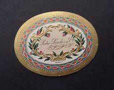 Ancienne étiquette BOITE DE CIGARE Pedro Sanchez old box cigar label