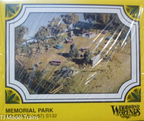Kit form Memorial Park Woodland Scenics HO #132