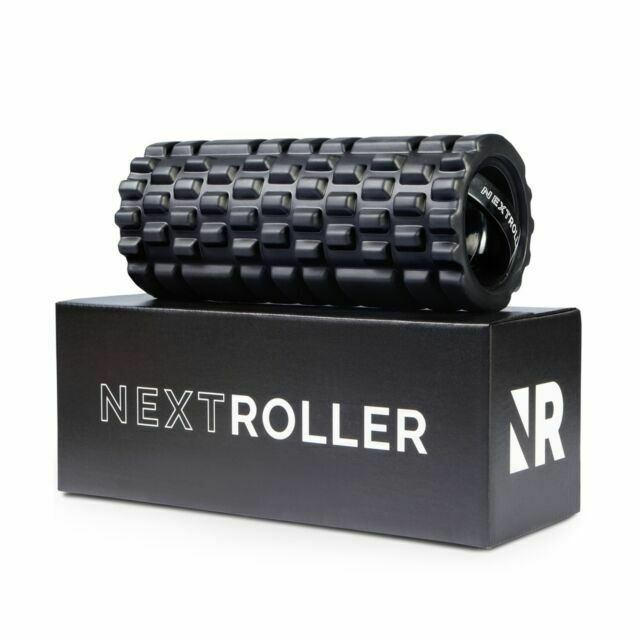 NXTRLRBLK1 3 Speed Rechargeable Vibrating Foam Roller - Blac