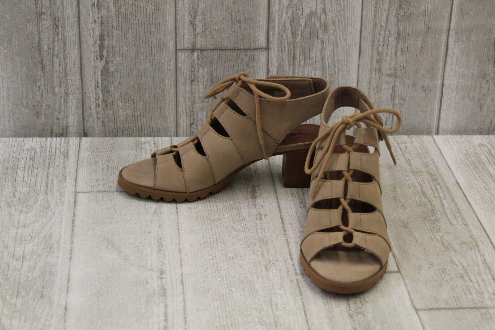 Walking Cradles Women's Nola Sandal - Light Taupe - Size 5.5 M