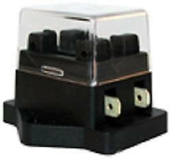 HIGH QUALITY REPLACEMENT 2 WAY ATO BLADE FUSE BOX HOLDER WITH COVER 12V 24V K322