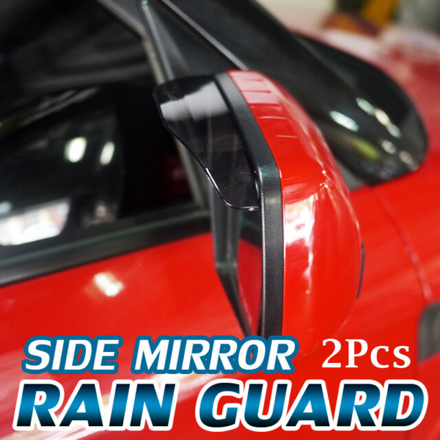 Side Mirror Shade Rain Snow Visor Guard Clear Cover For HYUNDAI 2002-08 Tiburon