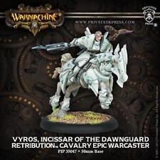 Warmachine - Retribution of Scyrah: Vyros, Incissar of the Dawnguard PIP35047