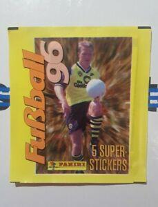 Panini-Bundesliga-1996-1-Tuete-Buli-96-Reinhardt-Bustina-Pochette-Packet
