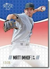 MATT IMHOF 2014 Rize Draft BLUE *Limited Edition* RC - Only 25 Made! LOT