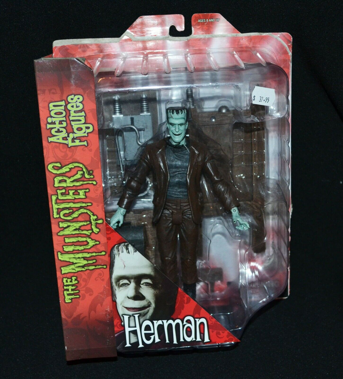 The Munsters Action Figure Herman Diamond Select Toys 2012 9