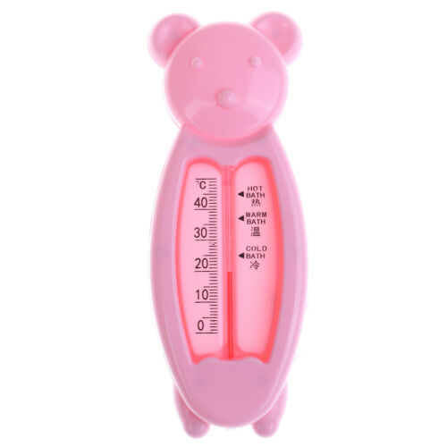1Pc Baby water temperature tester infant bath tub bear shape thermometer ÁÁ