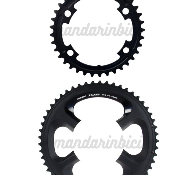 39T Shimano 105 FC-5800 110mm BCD 4 Arm Chainrings