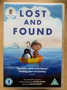 Lost-and-Found-DVD-Animated-Favourite-Based-on-Oliver-Jeffers-Children-039-s-Book