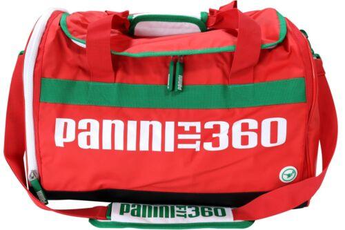 Sac de sport PANINI Fit 360 Rouge Sac De Voyage Sport Fitness Sac de voyage école NEUF