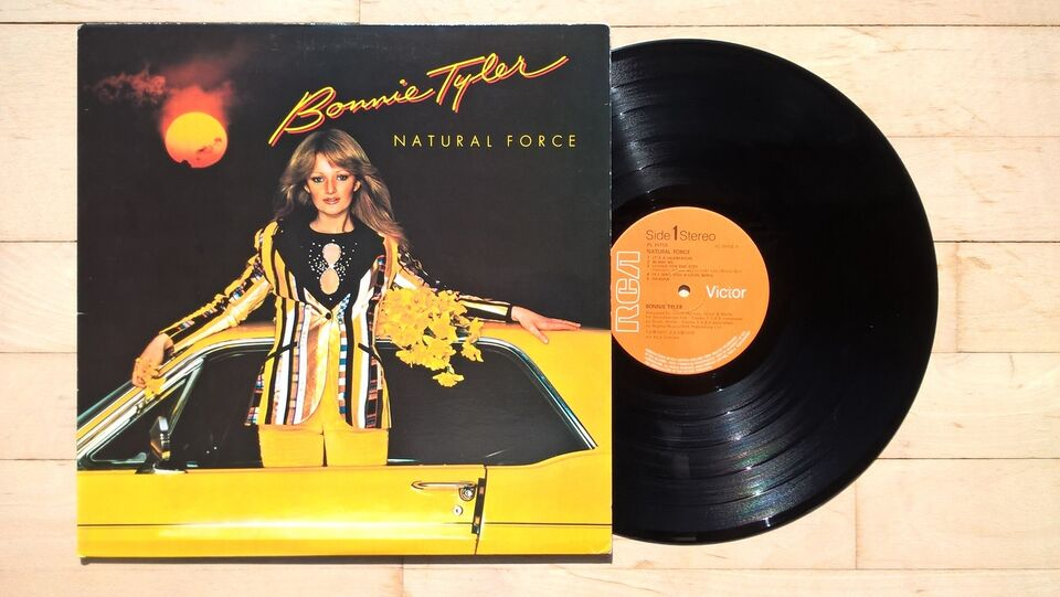 LP, Bonnie Tyler, Natural Force
