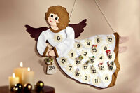 Adventskalender Engel Kalender Advent zum Selbstbefüllen aus Filz Weihnachten