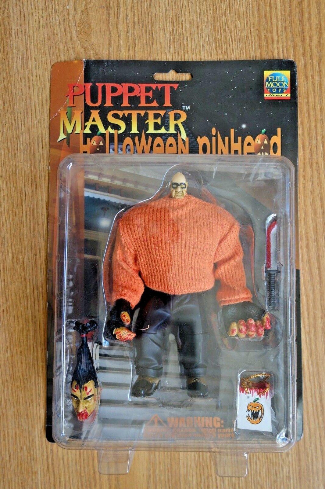 1999 Full Moon Puppet Master Special Edition Halloween Pinhead Figure