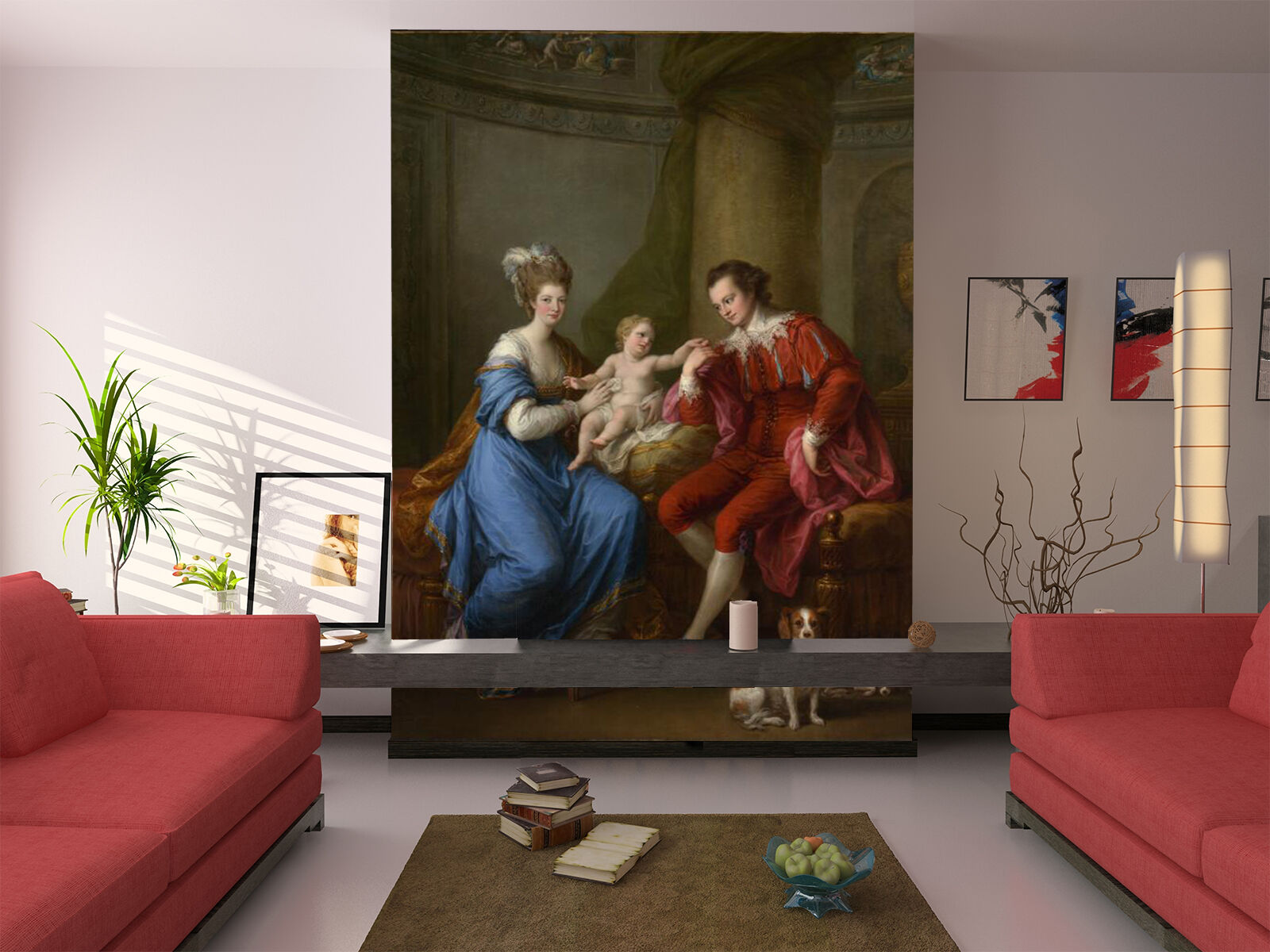 3D Close family 3423 Wall Paper Wall Print Decal Wall Deco Indoor Wall Murals