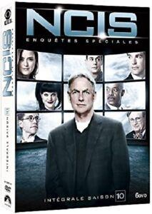 COFFRET NEUF DVD SERIE POLICIER : NCIS SAISON 10 - ENQUETES SPECIALES - THRILLER