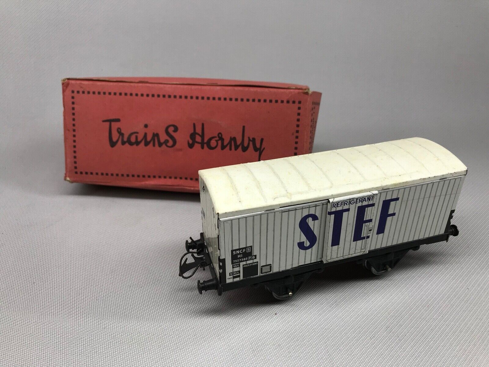 Waggon Kühlkoffer I S, Zug Hornby, Spur O Güterwagen Komplett Spiel Antik Box