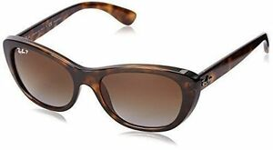 772a17a655 Ray-Ban Sunglasses RB 4227 710 t5 55mm Havana Frame Brown Polarized Lens