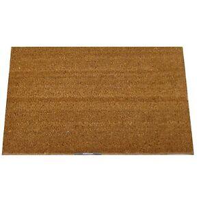 Indoor & Outdoor Rubber Backed Heavy Duty Entrance Natural Coir Door Mat