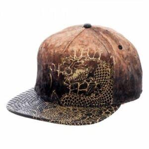 Suicide-Squad-Killer-Croc-Velvet-Leather-Snapback-Cap-Genuine-AU-Stock