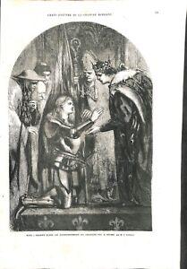 Jeanne d'Arc au couronnement de Charles VII roi de France à Reims GRAVURE 1869 - France - EBay Jeanne d'Arc au couronnement de Charles VII roi de France Reims par John Gilbert peintre UK/Joan of Arc at the coronation of Charles VII King of France in Reims by John Gilbert painter UK GRAVURE GRANDE TAILLE100 % DÉPOQUE1869 PORT GRATUIT  - France