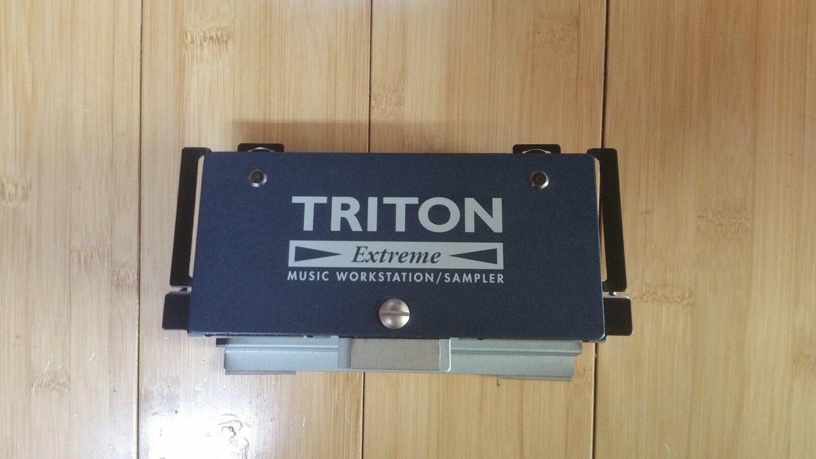 Korg Triton Extreme 88 - LEFT TOP COVER LID UNIT w screws