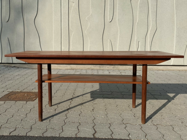 Sofabord, Teak Sofabord med patina