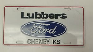 Lubbers Cheney Ks >> Expired Kansas License Plate Lubbers Ford Cheney Ks