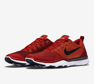 Nike Free Train Versatility 833258-606 Red Black White Men's Training Gym Shoes