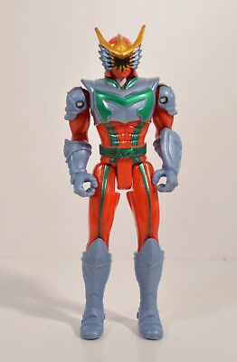 """2005 Nick Red Dragon Hunter 5.75"""" Action Figure Power Rangers Mystic Force"""
